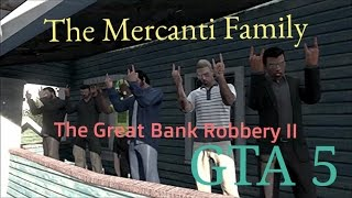 GTA 5 Online: The 6 Man Bank Robbery (Role Play)
