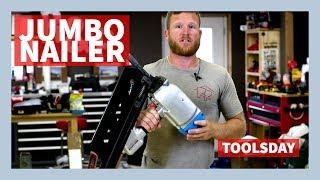 Fasco Jumbo Nailer: Toolsday - Largest Nail Gun