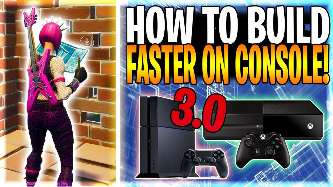 how to build fast on console like ninja and myth on pc fortnite battle royale tips tricks ep 12 - fortnite how to build fast on pc