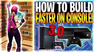 HOW TO BUILD FAST ON CONSOLE LIKE NINJA AND MYTH ON PC | Fortnite Battle Royale Tips & Tricks Ep. 12