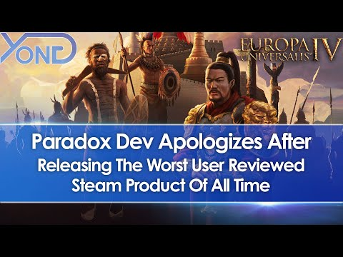 Paradox Dev Apologizes After EU4 Leviathan Expansion Became Worst User Reviewed Steam Product Ever |