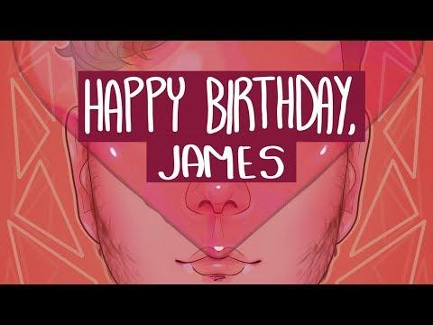 james, happy early birthday! [SPEEDPAINT]