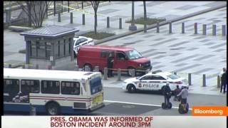 Obama Notified of Boston Marathon Explosions