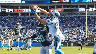 Listen to jaime moreno and luis moreno, jr. on the call for greg olsen's touchdown from panthers playoff victory vs. seattle.