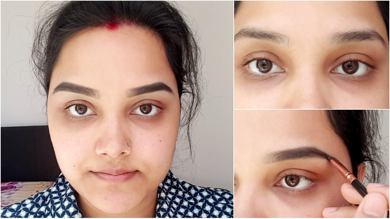 Eyebrows tuitorial for beginners || How to draw eyebrows ...