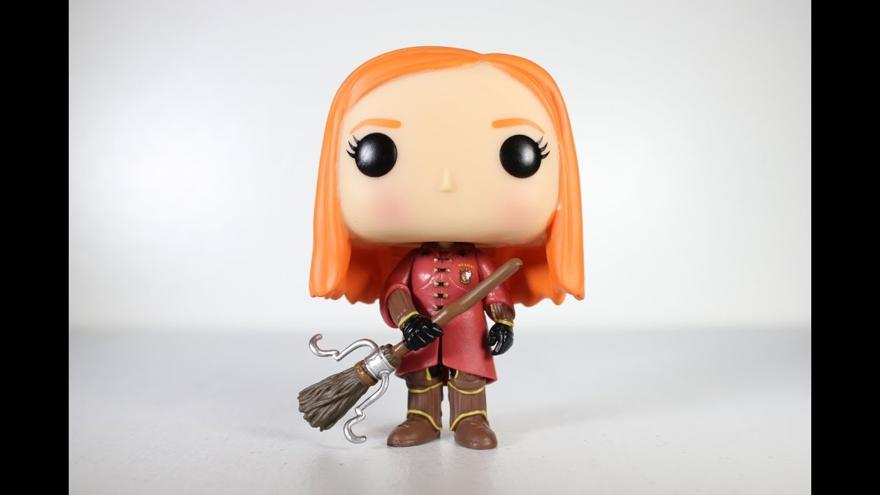 Harry Potter Ginny Weasley Quidditch Funko Pop Review
