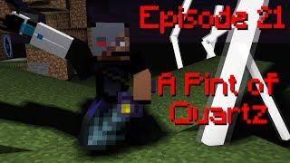 Minecraft Survival Let's Play Ars Technica - Episode 21: A Pint of Quartz