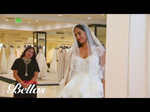 Nikki reluctantly tries on wedding dresses in front of her family: Total Bellas Preview, May 27 2018