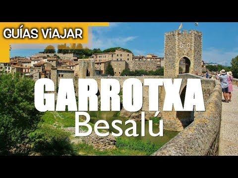 BESALÚ pueblo medieval en la Garrotxa Girona