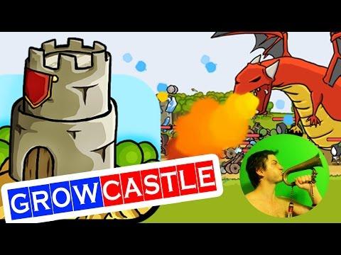 Grow Castle ЗАХВАТ ЗАМКОВ ☺ онлайн игра для Андроид