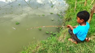 Best Fishing Video | Kids Fishing By Daily Village Life (Part-15)