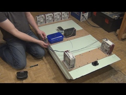 Building an RC Raft from Server Fans and Insulation Board