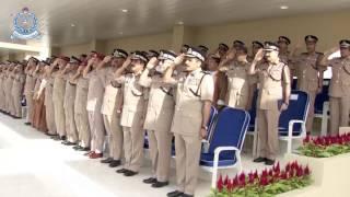 شرطة عمان السلطانية تحتفل بافتتاح مبنى وحدة المهام الخاصة بولاية نزوى