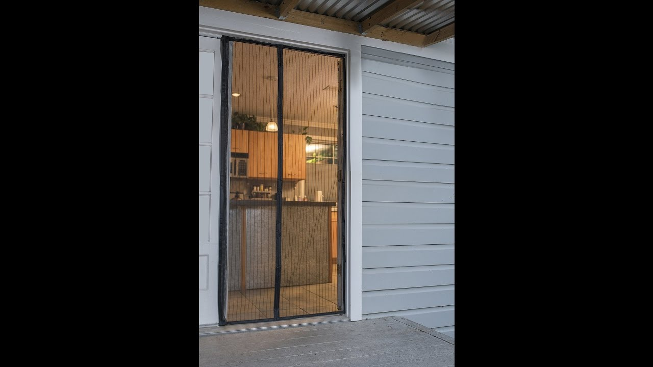 Review Flux Phenom Reinforced Magnetic Screen Door Fits Door Up To