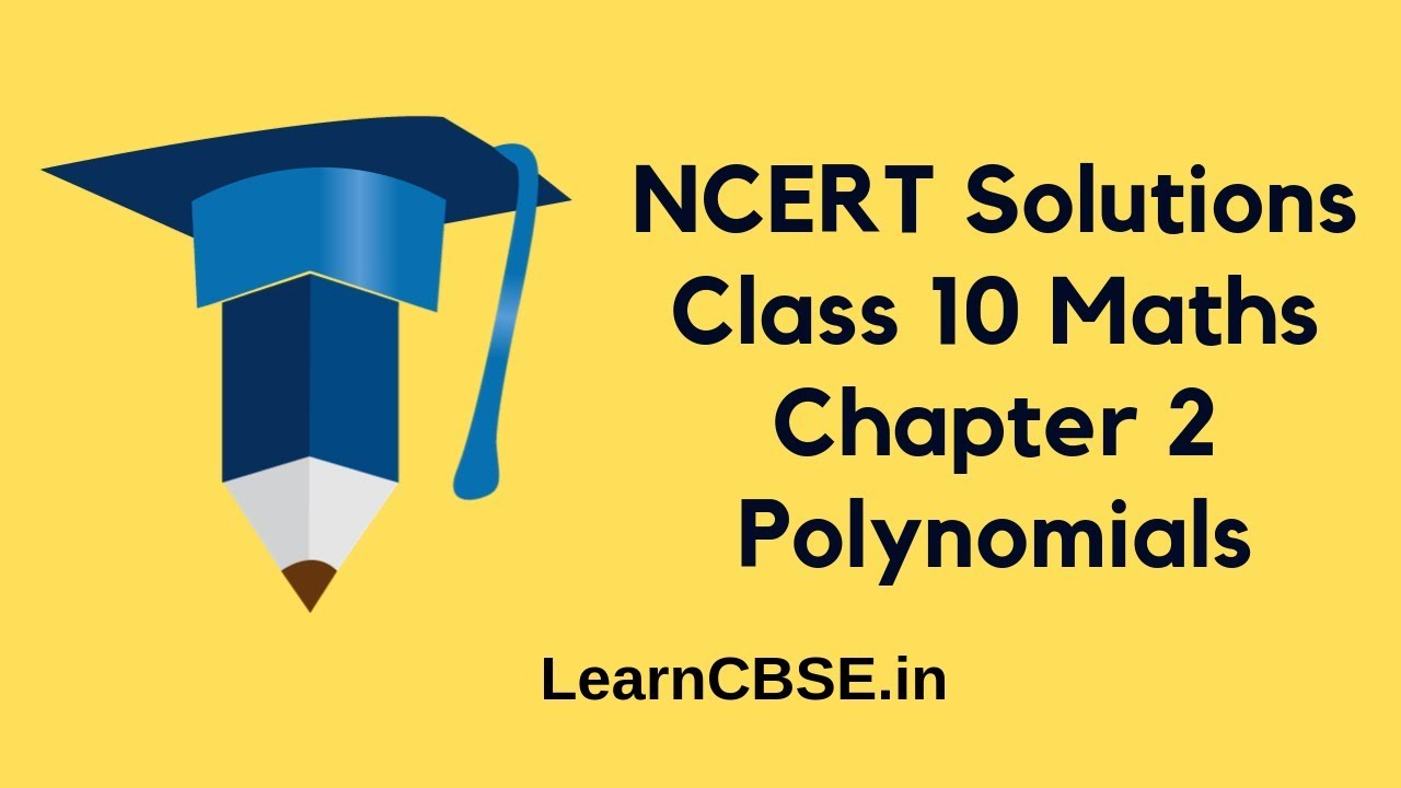 NCERT Solutions for Class 10 Maths Chapter 2 Polynomials Exercise 2 2  Question 1 ii