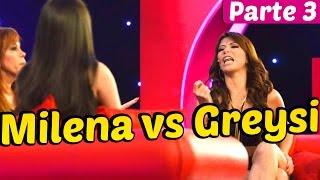 MILENA VS GREYSI CON MAGALY ENTREVISTA Parte 3 - 04/10/14