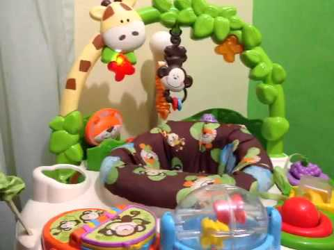 8dfb8ca09829 Fisher-Price go wild jumperoo - YouTube
