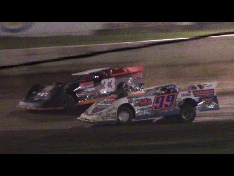 ULMS Super Late Model B-Main Two | Eriez Speedway | 9-22-17