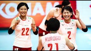 古賀紗理那 Sarina Koga Japan vs Germany 2018 FIVB World Championship