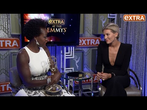 Viola Davis Gets Emotional & Personal About Her History Making Emmy Win