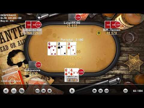 Winamax Poker Table Finale Desperado Partie 1 Youtube