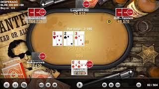 Winamax Poker Table Finale Desperado Partie 1