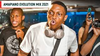 Amapiano Evolution Mix 2021 ft. DJ Melzi