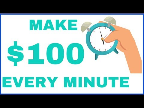 Make $100 Every 10 Minutes With 10 Clicks (Best Work From Home)