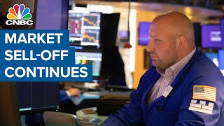 Market sell-off continues