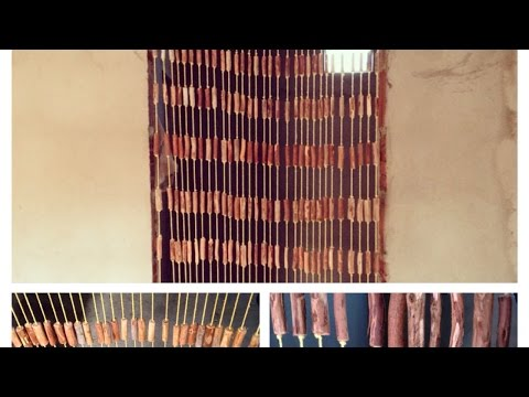How To Make A Beautiful Rustic Driftwood Curtain - DIY Crafts Tutorial - Guidecentral