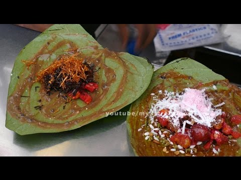 how to make sweet paan