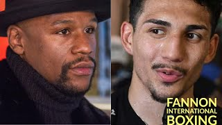 FLOYD MAYWEATHER PICKS DEVIN HANEY TO BEAT TEOFIMO BECAUSE OF R*CE INSINUATES TEOFIMO LOPEZ?!?!