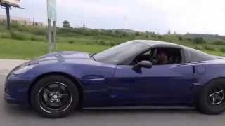 Inside 9 Second C6 Corvette Z06  vs 9 Second Viper GTS