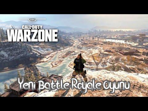 Yeni Battle Royale Oyunu | COD Warzone [ Gtx 1070 - Ryzen 5 1600x ] / Galibiyet