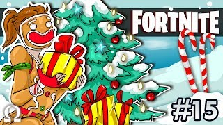 PRESENTS FOR THE GINGERBREAD GIRL! | Fortnite #15 Battle Royale Multiplayer Christmas Update Ft. D4