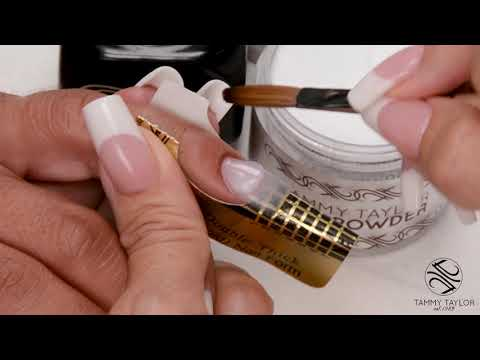 ❤ Chit Chat  Short Oval Sculptured Nail  How To  Tammy Taylor