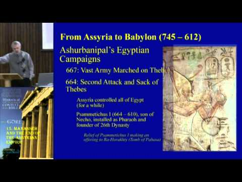 15. Manasseh and the End of the Assyrian Empire