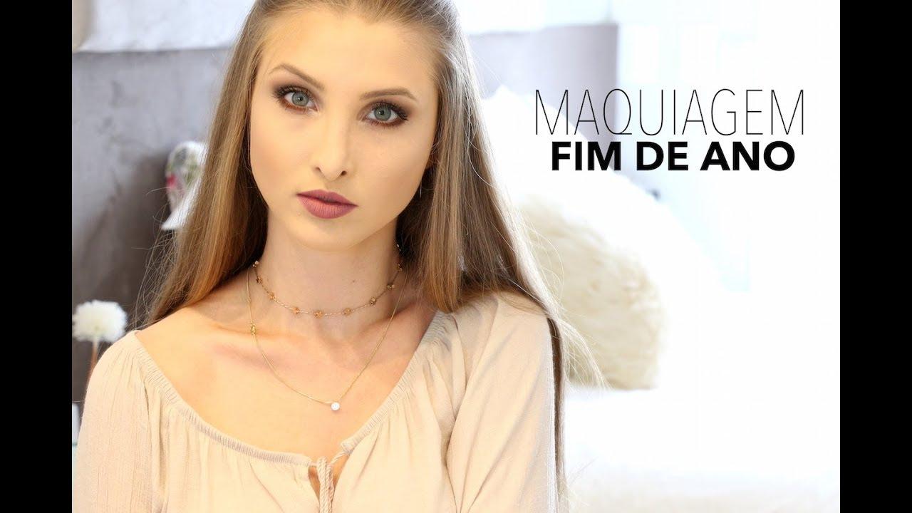 Vanessa Wonsovicz ~ Maquiagem para o fim de ano Vanessa Wonsovicz YouTube