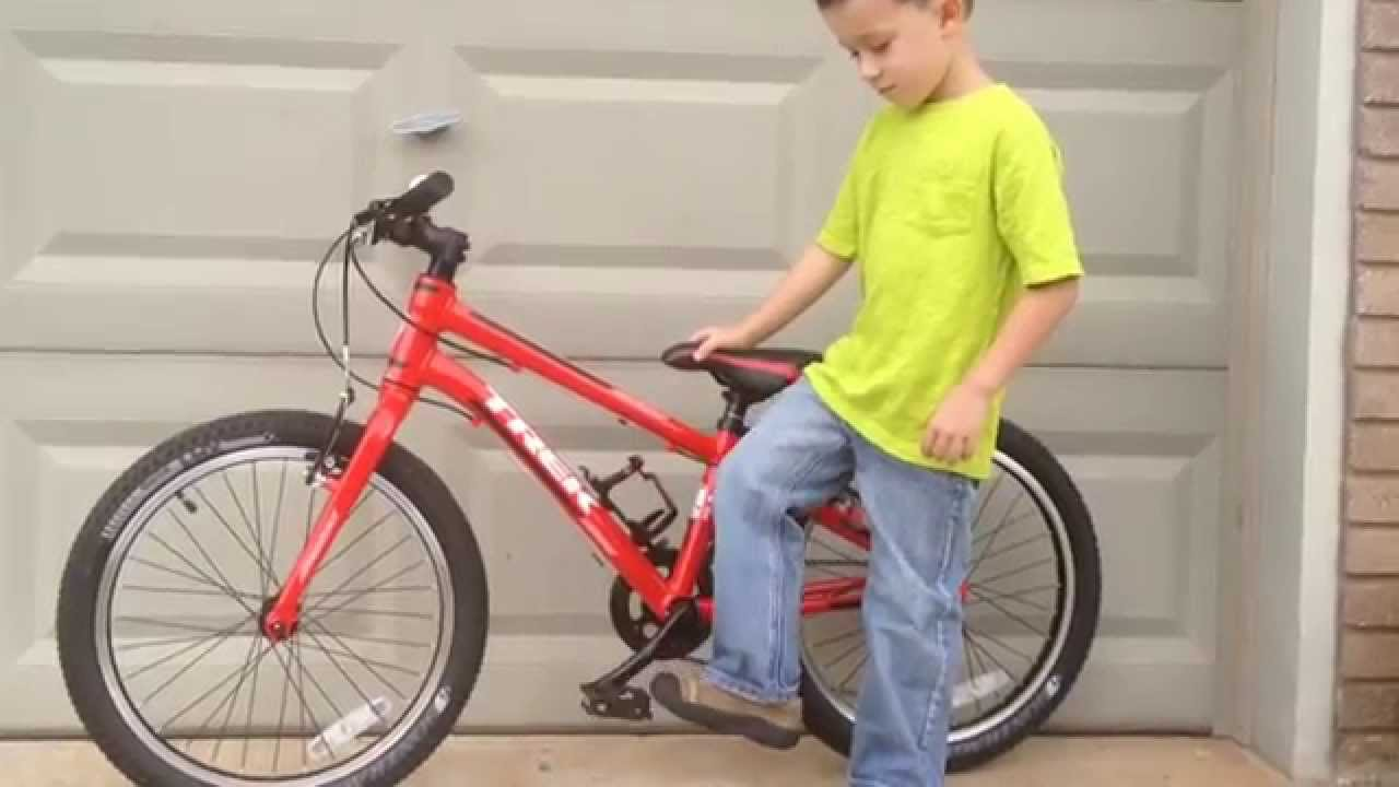 Kids Trek Superfly 20 Mountain Bike Review Youtube