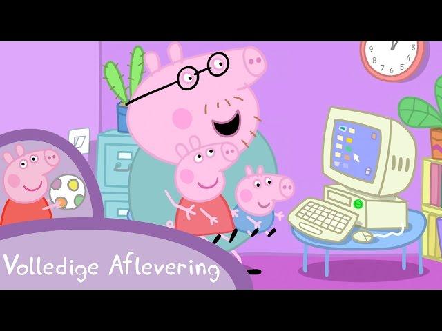 Peppa Pig Nederlands Compilatie Nieuwe Afleveringen | Mamma Big aan het werk | Tekenfilm