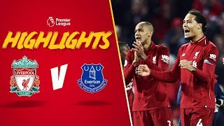 Dramatic last minute winner | Liverpool 1-0 Everton | Derby day drama from Divock Origi