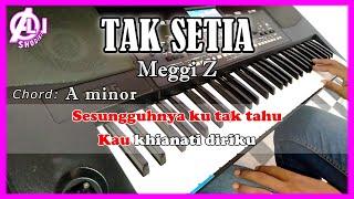 TAK SETIA - Meggi Z - Karaoke Dangdut (COVER) KORG Pa300