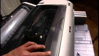 Epson Nozzle Clog  Cutting Blade Install