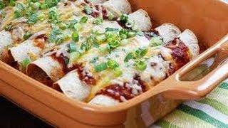 Skinny Chicken Enchiladas - Weight Watchers