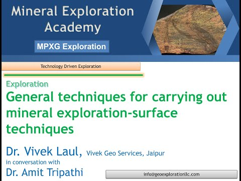 How to start exploring? Surface mineral exploration Techniqu