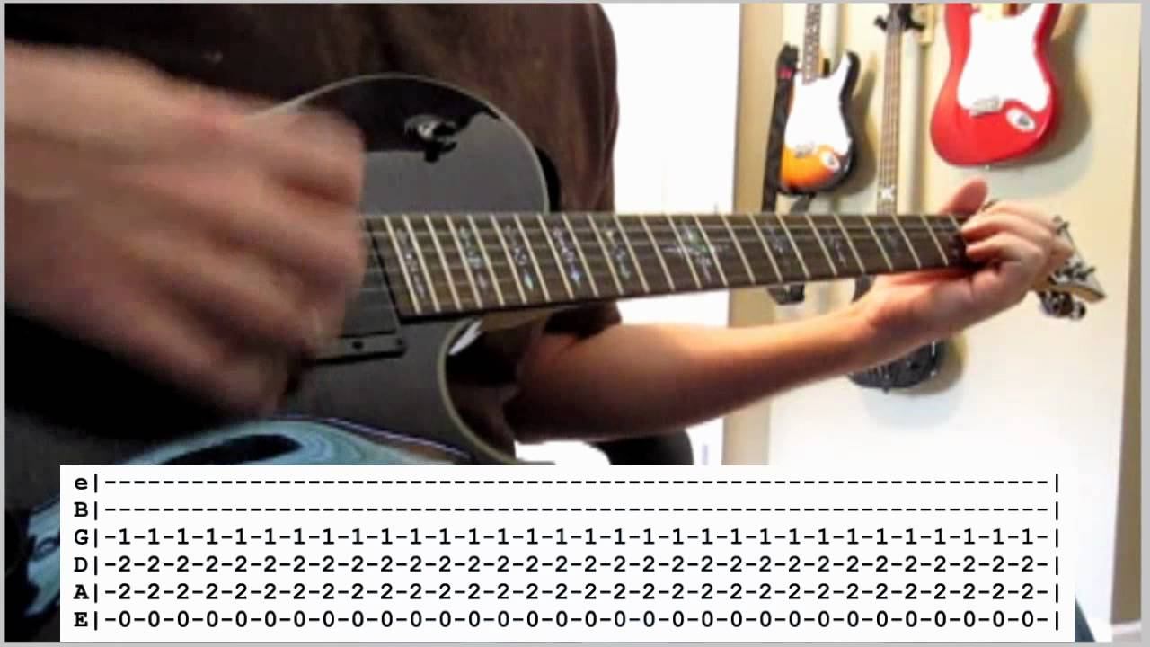 foo fighters walk guitar 1 cover dave s part with tabs youtube