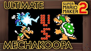 "Super Mario Maker 2 -  Amazing ""Ultimate Mechakoopa vs Bowser"" Level"