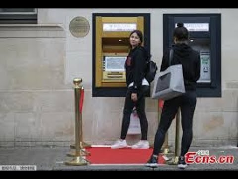 World's First ATM Machine   50th anniversary