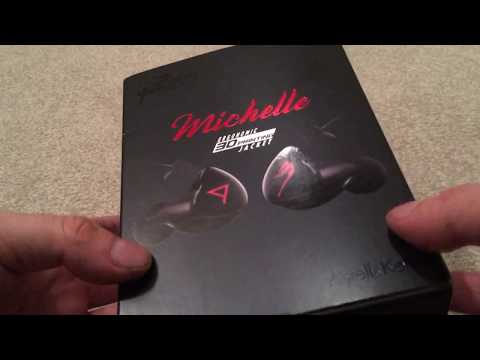 Astell&Kern/Jerry Harvey Audio Michelle IEM unboxing