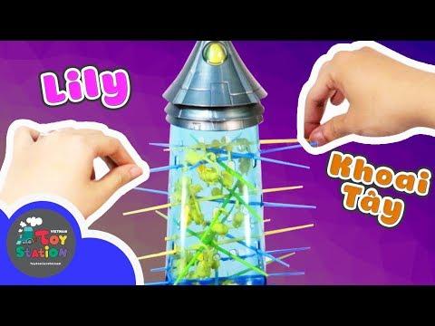 Game rút que, phiên bản Tumblin Minions. Khoai Tây vs Lily - ToyStation 127